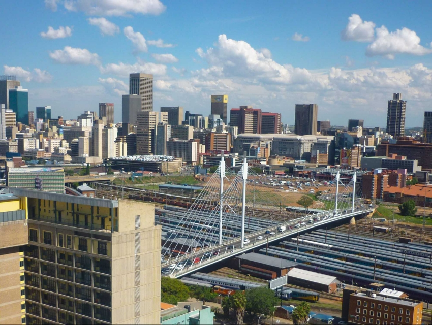A Day in Johannesburg